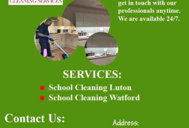 Hire School Cleaning Services To Keep Your School Clean