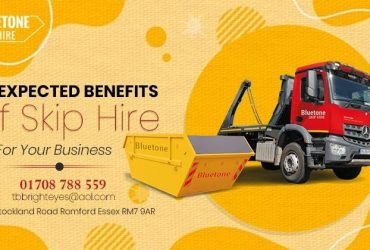 Skip Hire Services in Dagenham- Blue tone skip hire