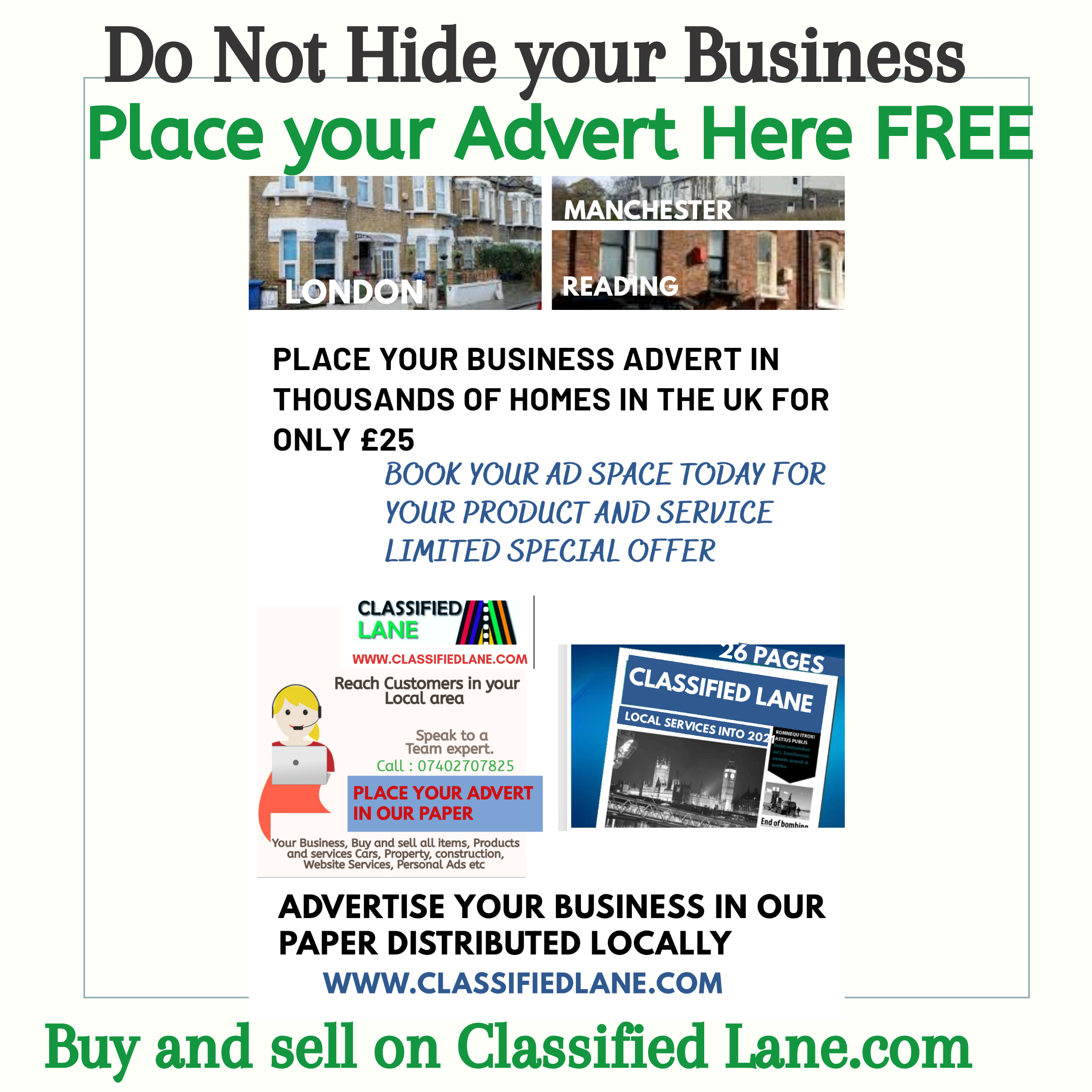 Top Advertising for Small Businesses | Running your Business with Classified Lane