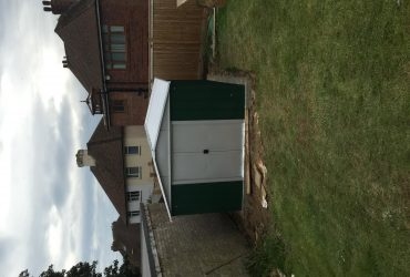 Fencing, sheds and re felting sheds
