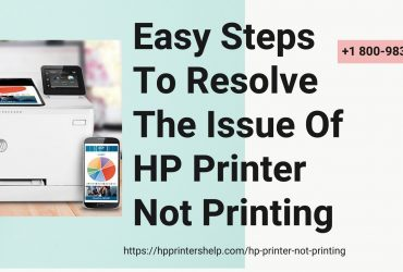 HP Printer Not Printing 1-8009837116 Hp Printer Not Printing Anything