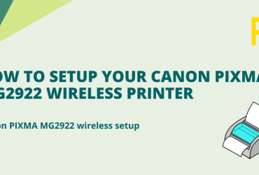 How to Solve Various Technical Problems in Canon MG2922?