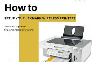 How Would I Connect Lexmark Wireless Printer to WiFi Network?