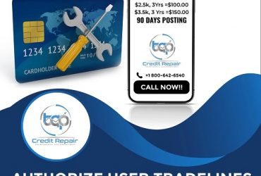 Credit Boosters! Wholesale AU Tradelines! Call Now!
