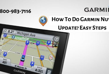 How to Update Garmin Nuvi Map | 18009837116 Call Now