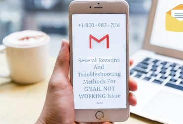 Gmail Stops Working on iPhone? Call 18009837116