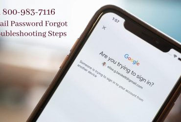 Resolve Gmail Password Forgot issue | 18009837116