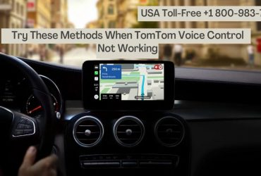 Want to Update Tomtom Voice Control | Dial 1 8009837116