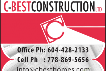 Best Home Builder in Vancouver Canada | Cbest Construction Ltd.