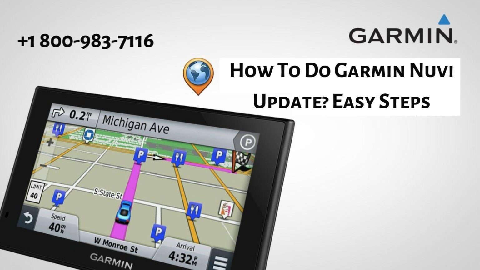 Instant Tips on Garmin Nuvi Update problem | 18009837116