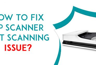 How to fix the HP scanner not working?