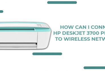How can I connect HP DeskJet 3700 Printer to wireless network?