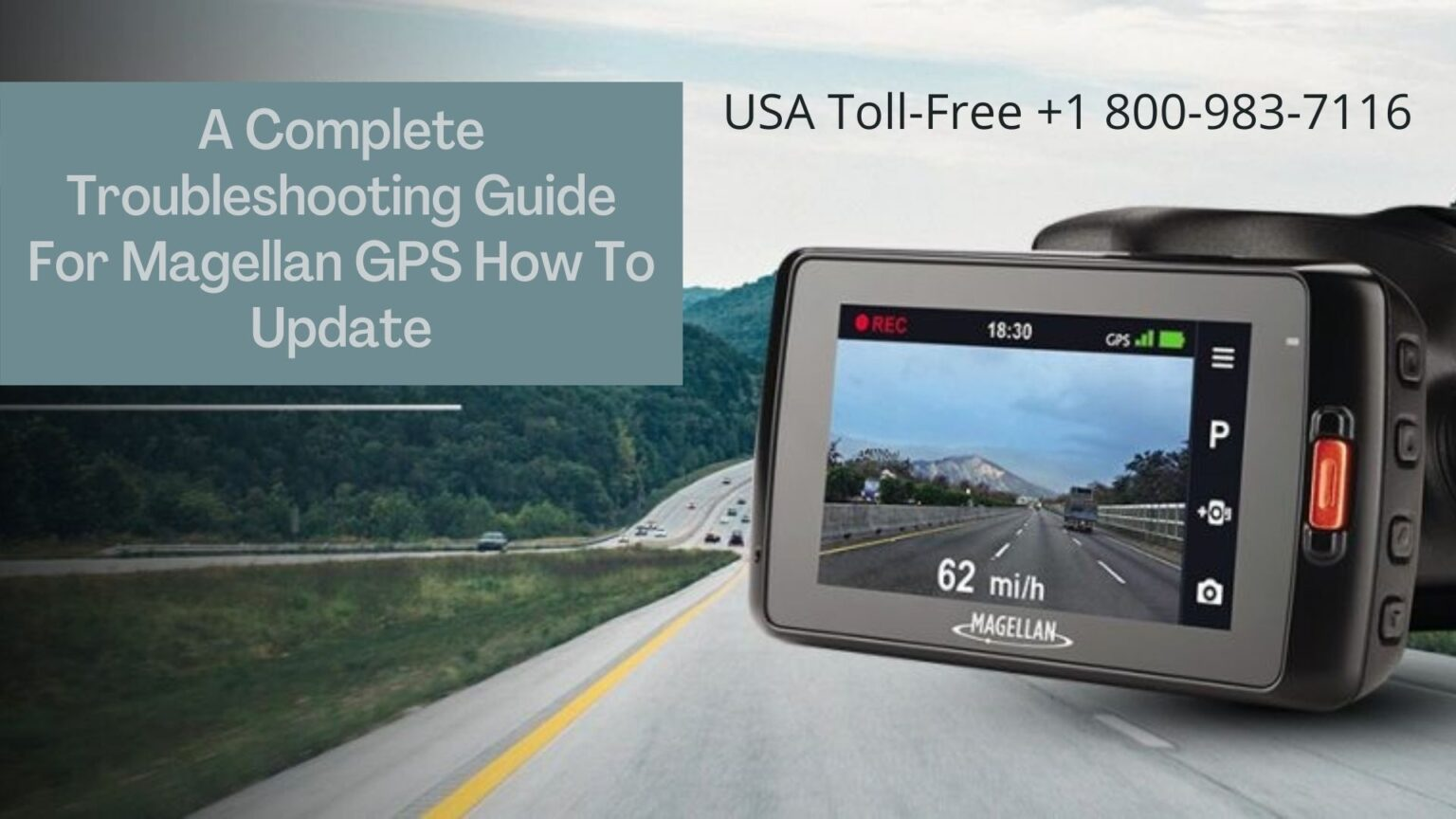 Need help for Magellan GPS How To Update | 18009837116
