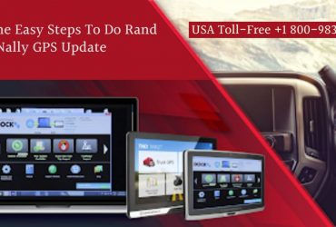 Tips and Tricks on Rand Mcnally GPS Update | 18009837116