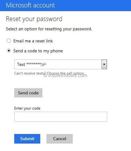Kunt u het Outlook-wachtwoord niet herstellen zonder telefoonnummer en alternatief e-mailadres?