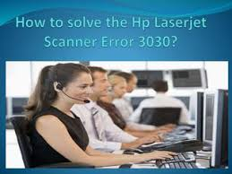 How To Fix HP Scanner Error 3030?