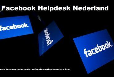 Facebook Klantenservice Nederland Nummer