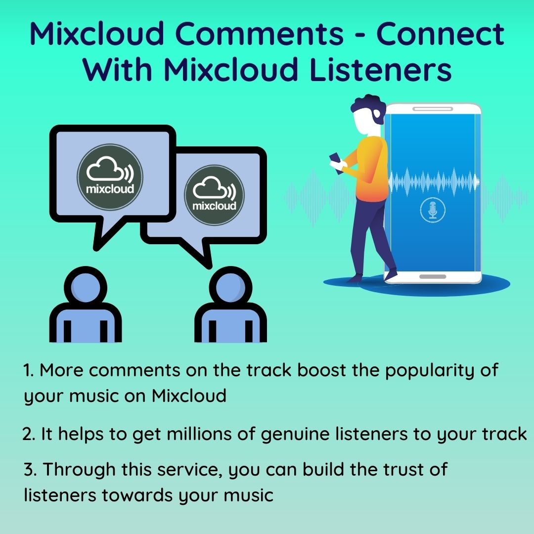 How to Buy Mixcloud Comments?