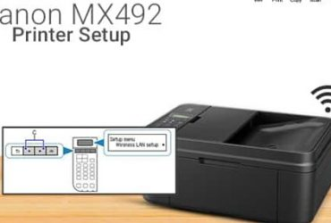 How to Connect Canon mx492 Printer Setup Issue