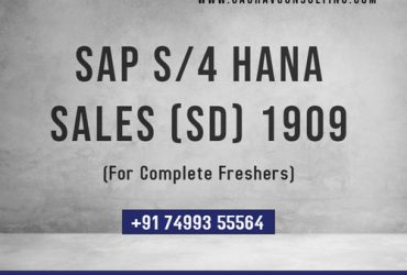 SAP S4 HANA 2020 Sales & Distribution (SD) Online Training and Certification Course  | Gaurav Learning Solutions