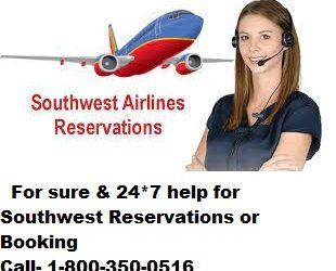 Southwest Airlines Reservations Phone Number (800)-350-0516