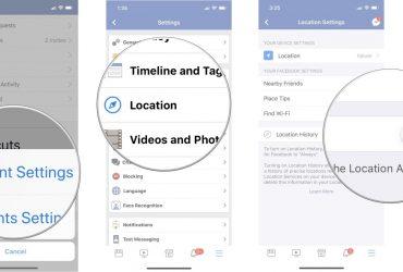 Hoe kunt u de Facebook-locatiefunctie uitschakelen?