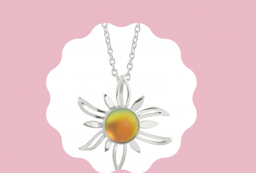Shop for this adorable Sterling silver sun pendant
