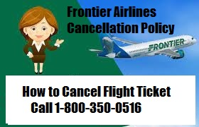 Frontier Airlines Cancellation Policy | Refund Policy