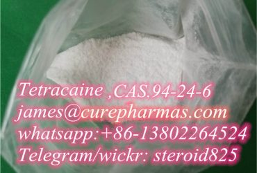 Tetracaine 94-24-6 Local anesthetic raw powder Tetracaine HCL for Anti-Paining