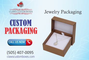 Custom Jewelry packaging are available at cheap prices