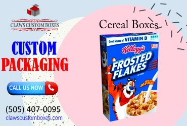 Get the best packaging of Cereal boxes from claws