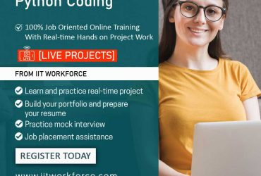 Know about python completely by enrolling python course at the IIT workforce