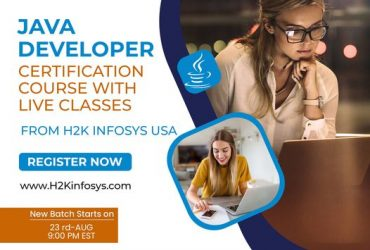 Enhance your skills in Java by learning an Online Java Course at H2K Infosys
