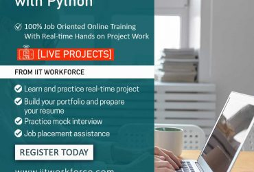 Learn selenium with python at IITworkforce