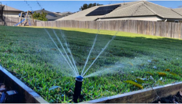 Wifi controlled irrigation system