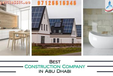 Best Construction Company in Abu Dhabi