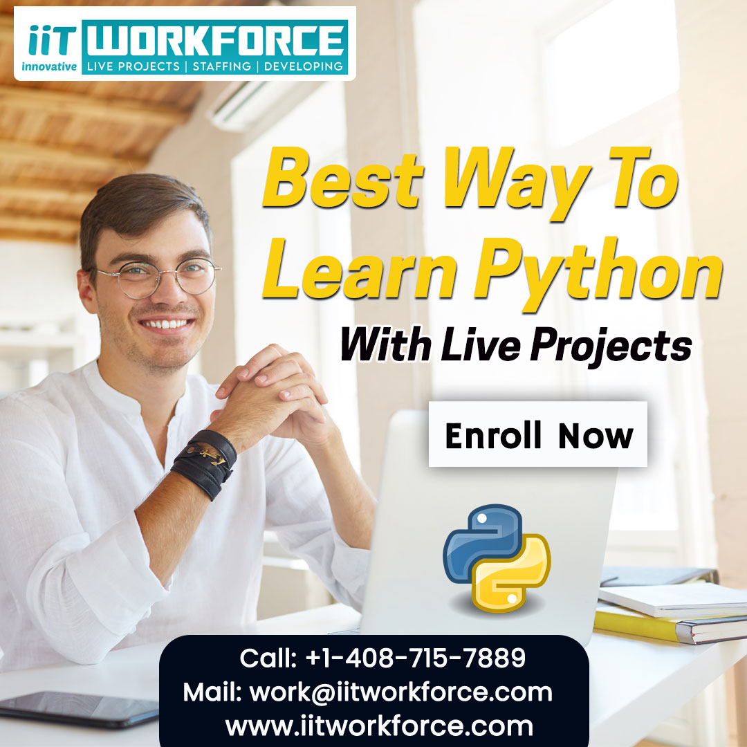 Enhance your coding skills by learning python at IIT Workforce