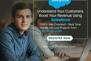 Get the best quality Salesforce Course at H2K Infosys USA