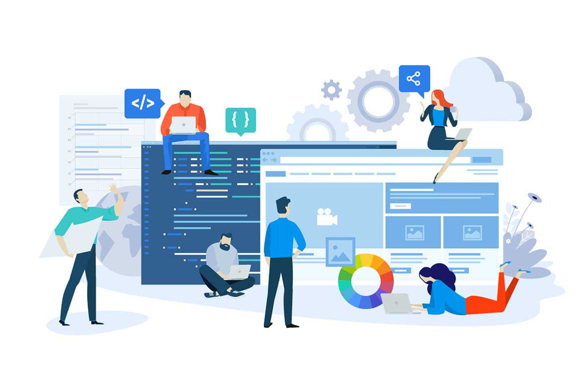 How do you promote an outsourcing web development company?
