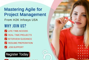 Avail a best agile online certification course from H2k Infosys