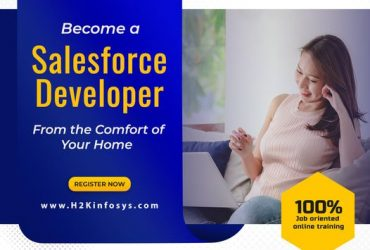 To become a Certified Salesforce Developer, get Salesforce training from H2K Infosys USA