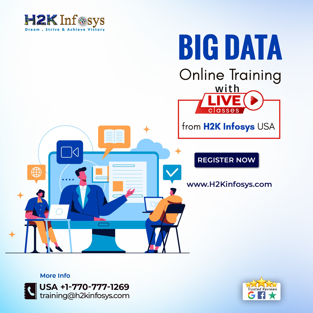 Obtain deep knowledge of big data from H2K Infosys