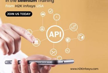 Learn How to Perform API Testing in the Selenium Training from H2K Infosys USA
