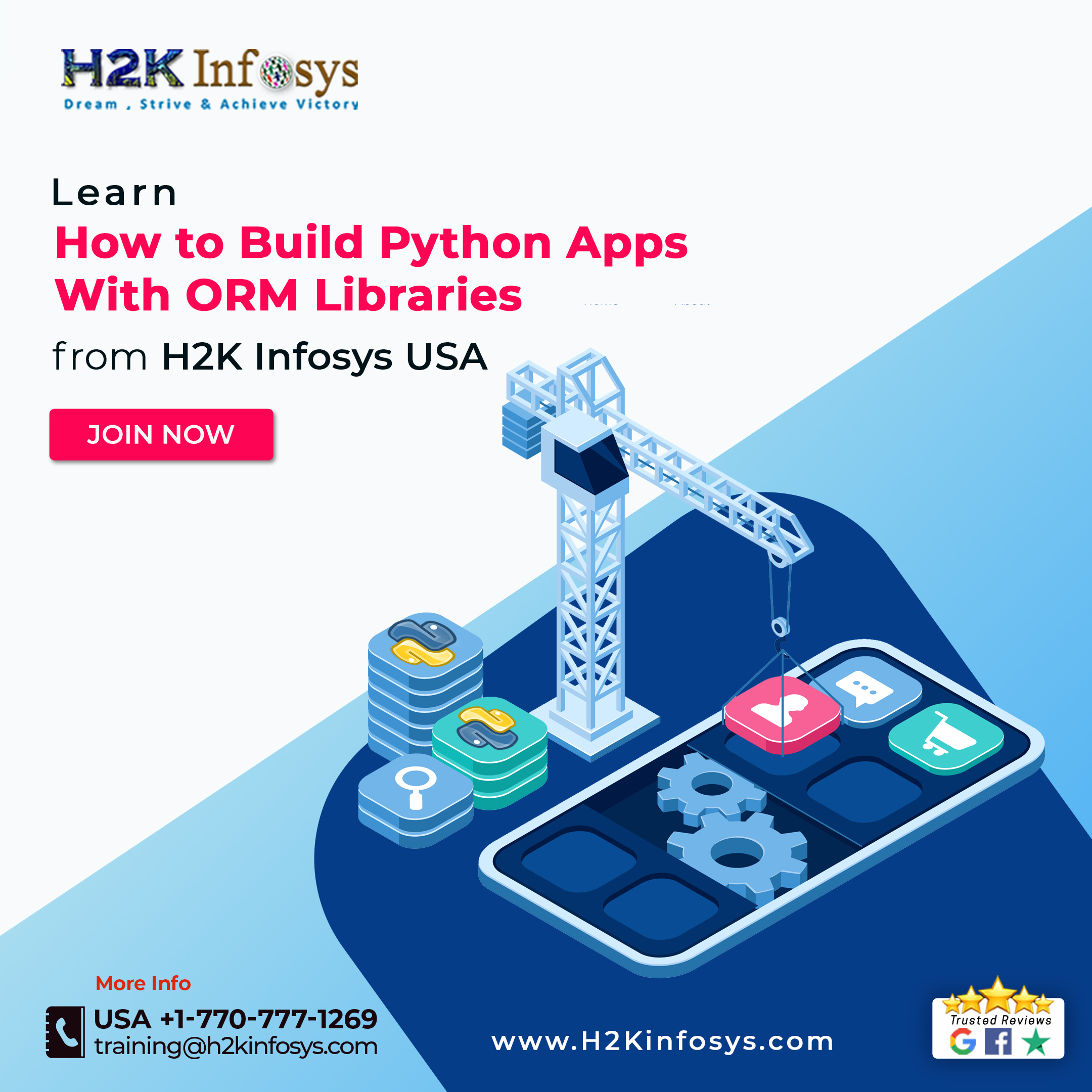 Get a Best Quality Python Course from H2KInfosys