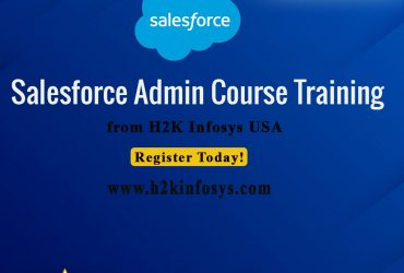 Approach H2k Infosys to get the right Salesforce Training