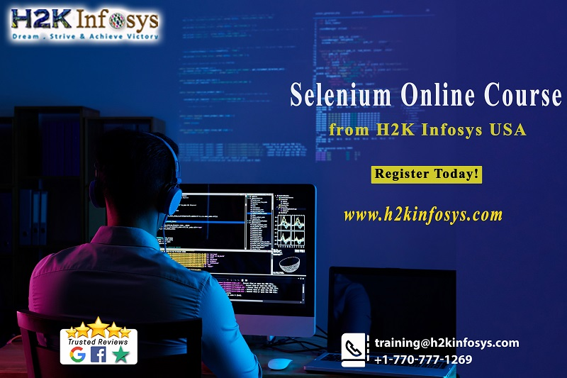 Selenium Online Course from H2K Infosys USA