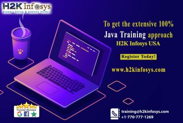 To get the extensive 100% Java Training approach H2k Infosys USA